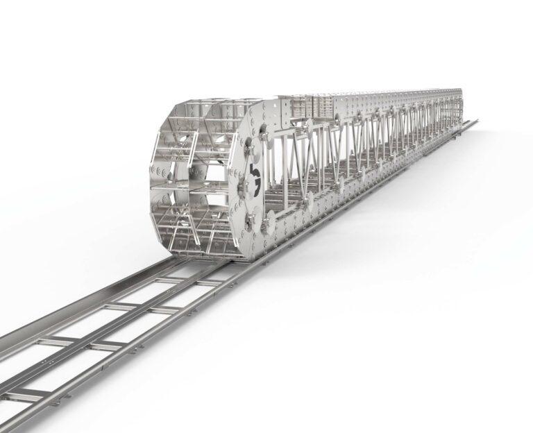 Kabelkjede eller drag chain fra Brevetti Nordic